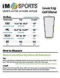 iM Sports Baseline Tennis Calf Compression Sleeve
