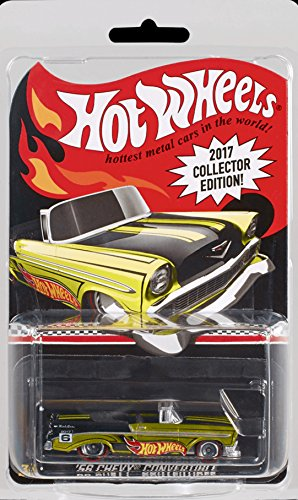 2017 Hot Wheels Collector Edition '56 Chevy Convertible 1:64 Scale