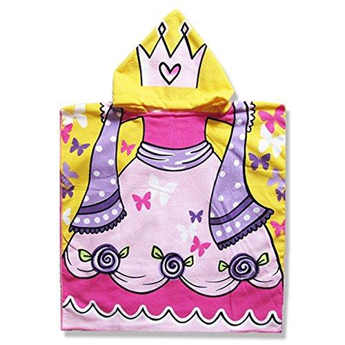 yocome infantil niños con capucha de baño toalla de playa piscina Poncho manta de dibujos animados albornoz y manopla juego de toallas: Amazon.es: Hogar