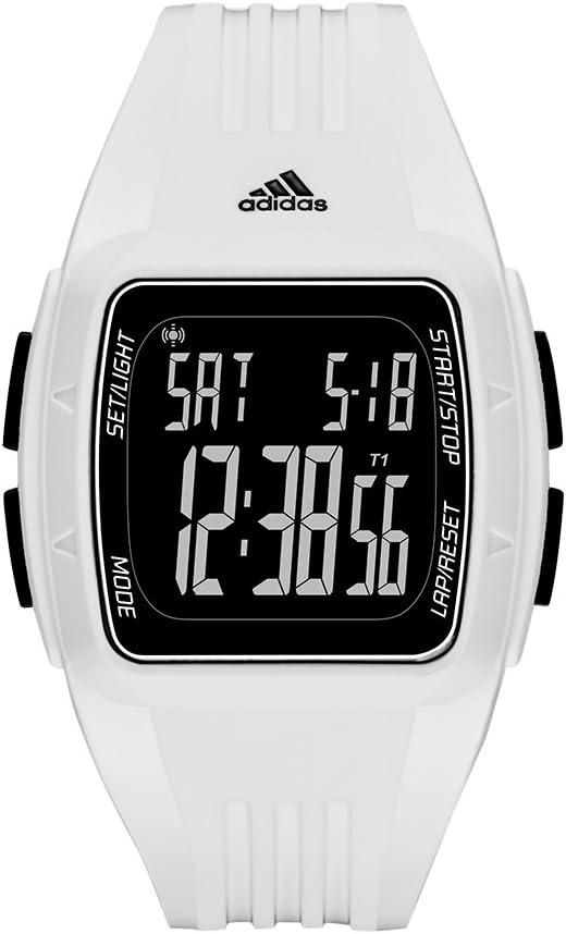 Inactivo Remontarse Motivación  Adidas Performance ADP3263 Reloj Duramo, Cuadrado, Digital, Unisex Adulto:  Amazon.com.mx: Relojes