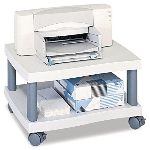 (SAF1861GR - Underdesk Stand - Safco Wave Design Printer Stand - Each)
