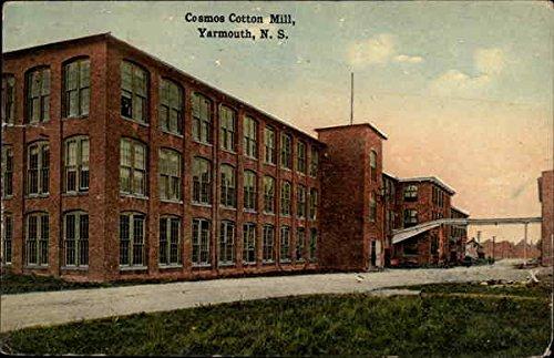 Cosmos Cotton Mill Yarmouth, Nova Scotia Canada Original Vintage - Cosmo Canada