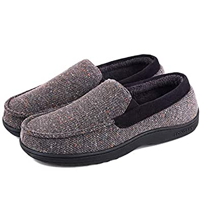 LongBay Mens Comfortable Grey Size: 8