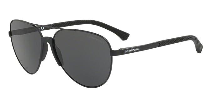 Amazon.com: Gafas de sol Emporio Armani EA 2059 F 320387 ...