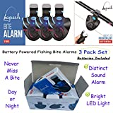 New Electronic Fish Bites Indicator Beats Fishing Bells for All Fishing. Best Fishing Accessories for catfishing Tackle, carp Fishing Equipment, Night Fishing, You'll Love This New Fishing bite Alarm