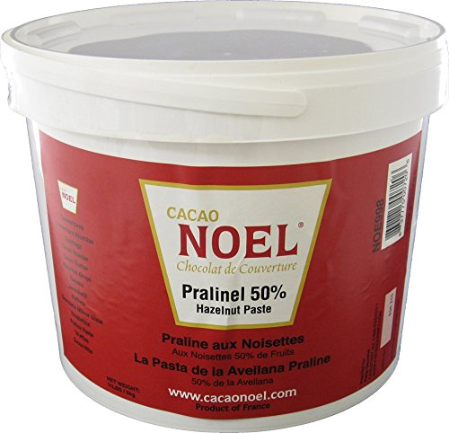 Hazelnut Praline Paste 50% 11 Lbs by Cacao Noel