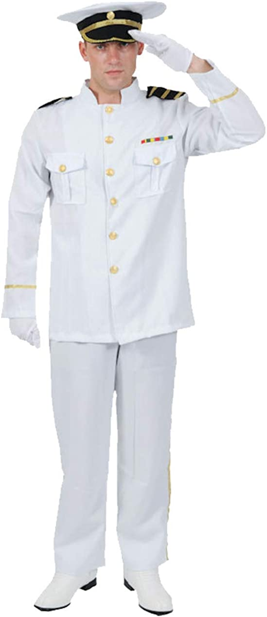 Orion Costumes Mens Max 45% OFF Navy Captain Unifor Sailor Sea Naval Officer Memphis Mall
