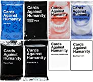 Cards Game Against Humanity Expansion Packs Set 8 Packs