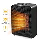 Best Ceramic Heaters - Portable Space Heater, Indoor 750W/1500W Ceramic Electric Heater Review