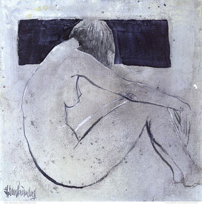 Studies from the Nude II by Heleen Vriesendorp - 19.75x19.75 Inches - Art Print Poster