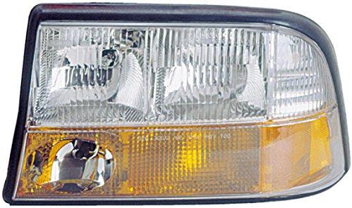 - Dorman 1590110 Driver Side Headlight Assembly For Select GMC / Oldsmobile Models