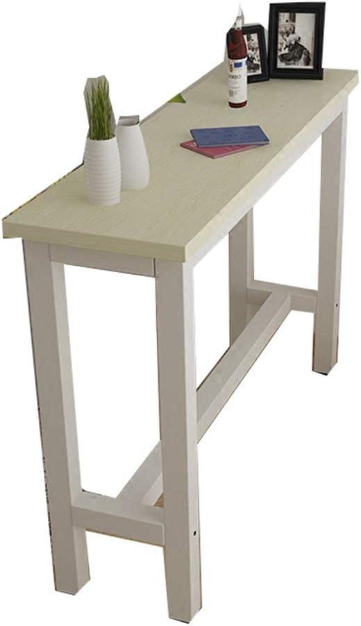 YNN Table Mesa de Bar Hogar Simple Moderna contra la Pared Mesa de ...