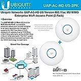 Ubiquiti UAP-AC-HD US (2Pack) 802.11ac MU MIMO Enterprise Wi-Fi Access Point