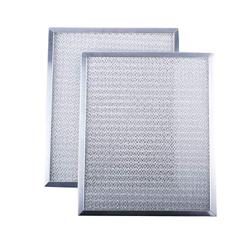97006931 Range Hood Aluminum Filter for Kenmore S97006931 1172137 5-3078 88150 99010121 C88150 K758900 Broan Range Hood Filter BP29 (2 pack)