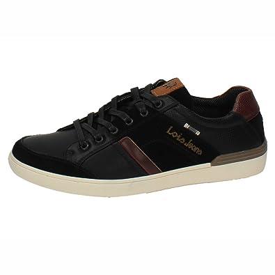 ZAPATOP 84528 Zapatillas Negras Hombre Deportivos Negro 44: Amazon.es: Zapatos y complementos
