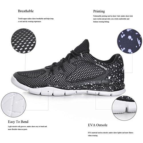 Li Ning Män Snabb Xt Ljus Träningsskor Andas Fitness Sneakers Komfort Kör Sportskor 1h Män