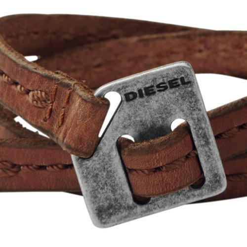 Lederarmband herren  Diesel Herren-Armband DX0568040: Amazon.de: Schmuck