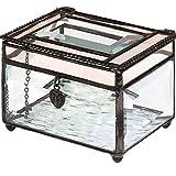 J Devlin Box 583 Beveled Glass Jewelry Box...