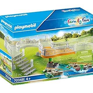 PLAYMOBIL Zoo Viewing Platform Extension 70348 to Build up Your Event Zoo
