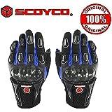 Scoyco MC09 Bike Riding Gloves Set of 2-Black Size-XL