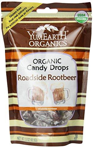 Yummy Earth Organic Candy Drops Roadside Root Beer - 3.3 oz