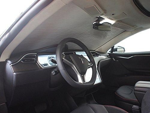 The Original Windshield Sun Shade, Custom-Fit for Tesla S...