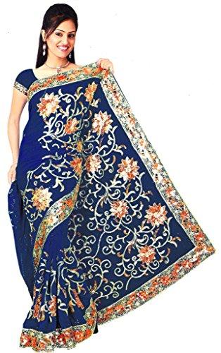 Sari Fabric Belly Dance Dress - 5