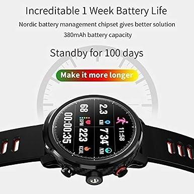 Amazon.com: HAMSWAN L5 Smart Watch IP68 Waterproof Fitness ...