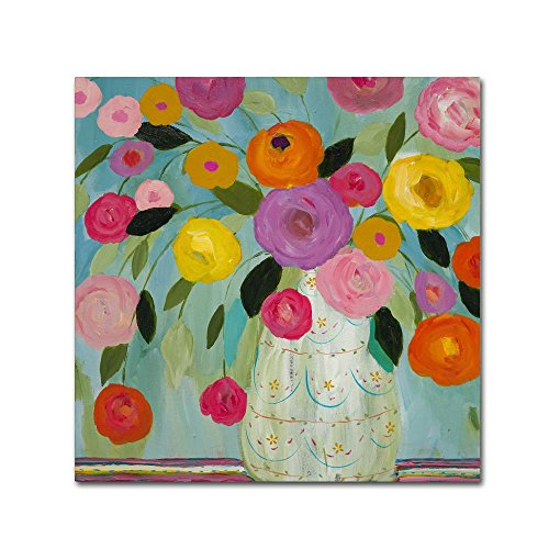 Fiesta by Carrie Schmitt, 24x24-Inch Canvas Wall Art