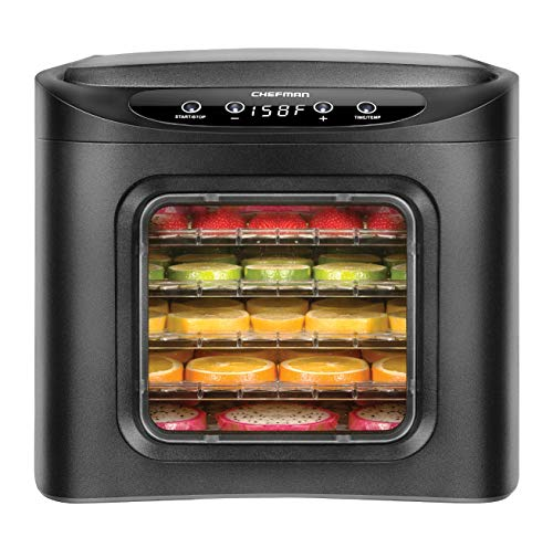Chefman Food Dehydrator Machine, Electric Multi-Tier Food Pr