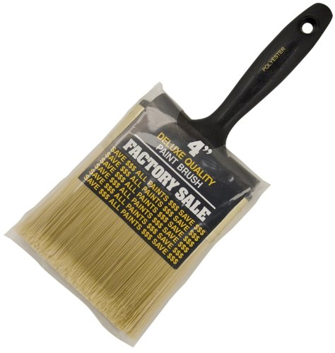 Wooster Brush 4IN P3974-4 Factory Sale Polyester Paintbrush, 4-Inch