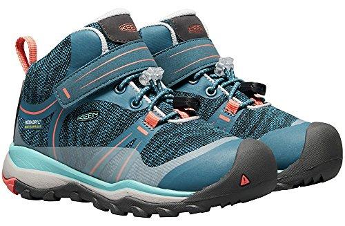 Pictures of KEEN Unisex Terradora MID WP Hiking Shoe 1018385 Aqua Sea/Coral 5