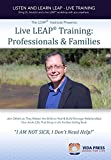 Audio CDs of a Live LEAP Training: Professionals & Families