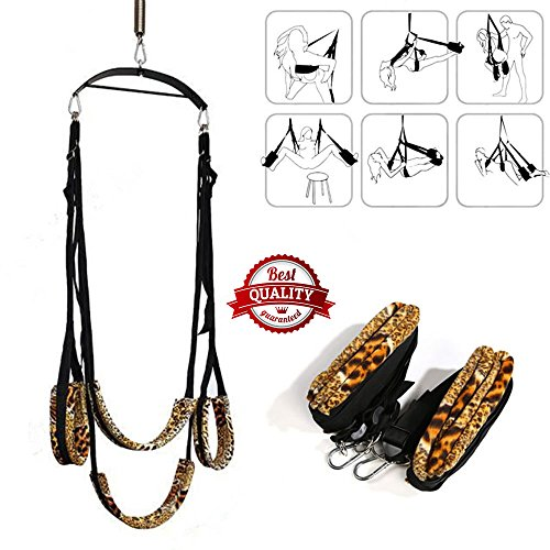 Price comparison product image 1 Set Adult Sexy Fantasy Love Sex Swing Couples Swing Sling Game Loves Fetish Bondage Erotic Toys