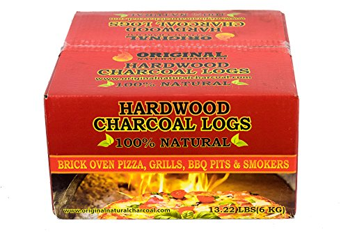 Original Natural Charcoal Premium All Natural Charcoal Logs