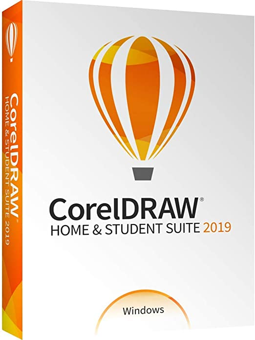 Amazon Com Coreldraw Home Student Suite 2019 For Windows Pc Disc Old Version Software