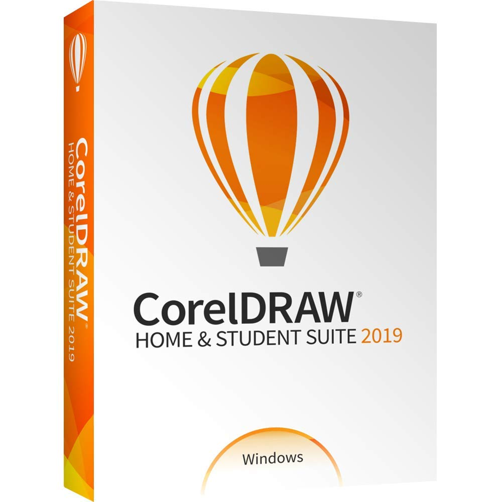 CorelDRAW Home & Student Suite 2019 for Windows [PC Disc] by Corel