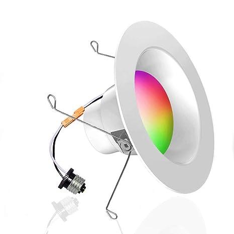 Surprising Smart Led Downlight Ilintek Smart Recessed Lighting Ceiling Light Wiring Cloud Venetbieswglorg