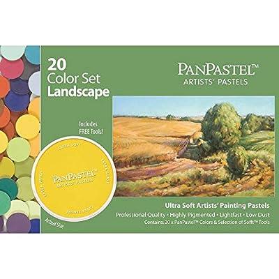 Panpastel Ultra Soft Artist Pastel Landscape Set