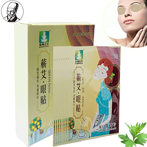 Traditional Chinese Herbal Under Eye Patches for Puffy Eyes,Remove Eye Bags, Dark Circles, Relieve Eye Fatigue, Eliminate Eye Wrinkles, Lasting Hydrating and Protect Vision Eye Mask Treatment -14Pairs