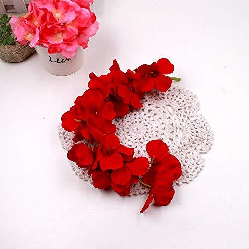 (CoronationSun - Decor Rattan - 1pcs STRI Artificial Flower e for Wedding Home Party Kids Room Decoration DIY Craft Fake Flowers Supplies)
