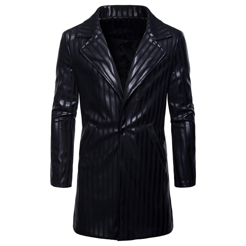 Ennglun Mens jacket Windbreaker Coats For Men SWEATER メンズ Small ブラック B07JVYXTKB