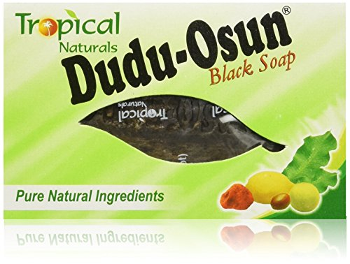 Price comparison product image Black Soap 12 Bar Value Pack By Dudu Osun For African American Skin Care | African Black Soap Bars Made with Pure Natural Ingredients | Face and Body Wash for Cleansing, Nourishing, Protecting and Refreshing Your Skin | Each Soap Bar Contains Shea Butter,