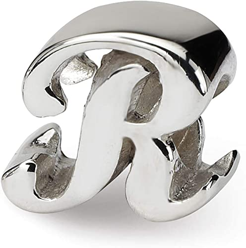 Beautiful Sterling silver 925 sterling Sterling Silver Reflections Letter A Bead