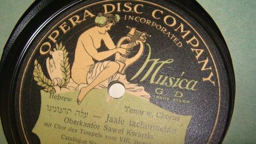 7 VINTAGE VERY RARE OPERA DISC COMPANY JEWISH,YIDDISH,HEBREW,ISRAEL RECORDS,RECORD LOT,ISA KREMER,BRUNSWICK RECORD LABEL+ OBERKANTOR SAWEL KWARTIN + PINCHOS JASSINOWSKY VICTOR VINYL,RECORD - Google Isa