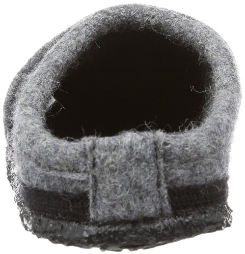 Nanga Gipfel 01-0020 - Pantuflas de fieltro unisex Gris