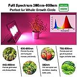 COB LED Grow Lights 450W Full Spectrum Plants Grow