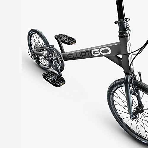 ElliptiGO SUB - The World's First Outdoor Stand Up Bike (Gunmetal)