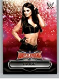 #4: 2016 Topps WWE Road to Wrestlemania Wrestlemania 32 Roster #27 Paige NM-MT