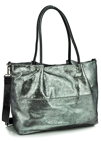 sondra-roberts-leather-collection-soft-metallic-leather-tote-black-one-size